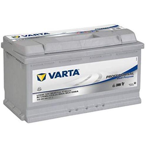 Varta LFD90 Professional Boot Wohnmobil Solar Versorgungsbatterie