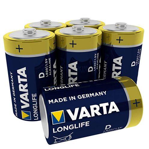 Varta Longlife Batterie D Mono Alkaline Batterien LR20