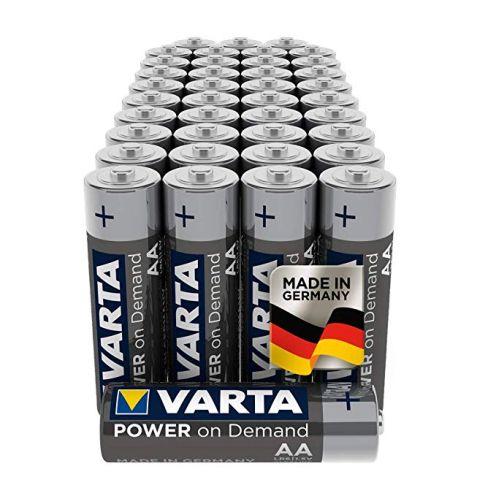 Varta Power on Demand AA Mignon Batterien
