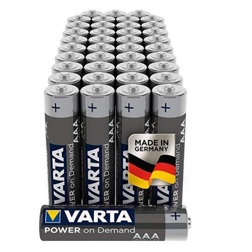 Varta Power on Demand AAA Micro Batterien