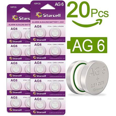 Act 20 Alkaline Knopfzellen
