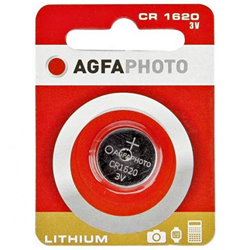 AgfaPhoto Lithium Knopfzellen Batterie CR 1620