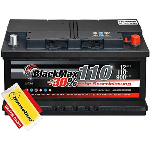 Autobatterie 110 Ah Black Max