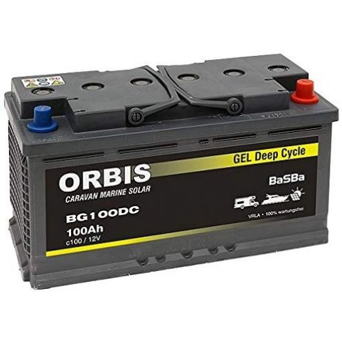 BaSBa Gel BG100DC Versorgungsbatterie