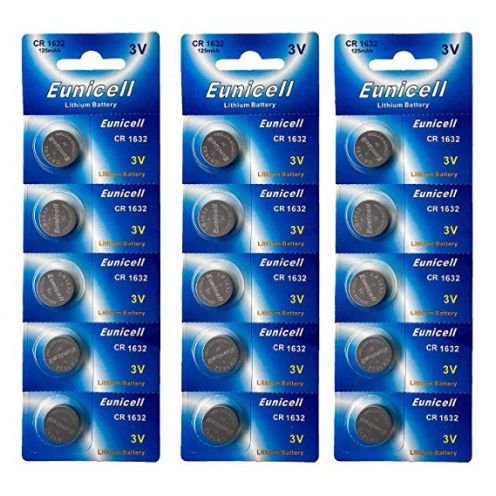 Eunicell 15 x CR1632 3V Lithium Knopfzelle