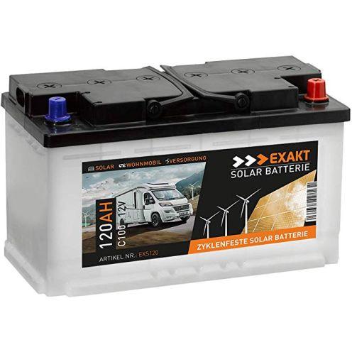 EXAKT Solarbatterie 120Ah 12V