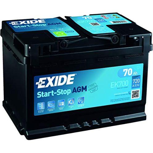 Exide 096 AGM Autobatterie
