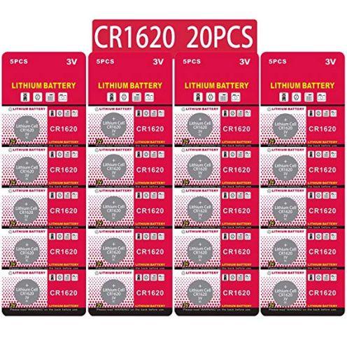JZHUAZ CR1620 3V Lithium Knopfzelle
