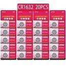 JZHUAZ CR1632 3V Lithium Knopfzellen