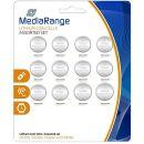 MediaRange Lithium Knopfzellen-Set