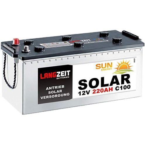 Solarbatterie 220Ah 12V