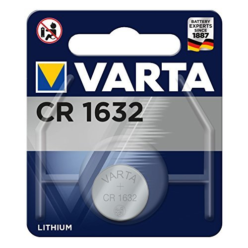 Varta 0568017 Batteries (CR1632, 3Volt)