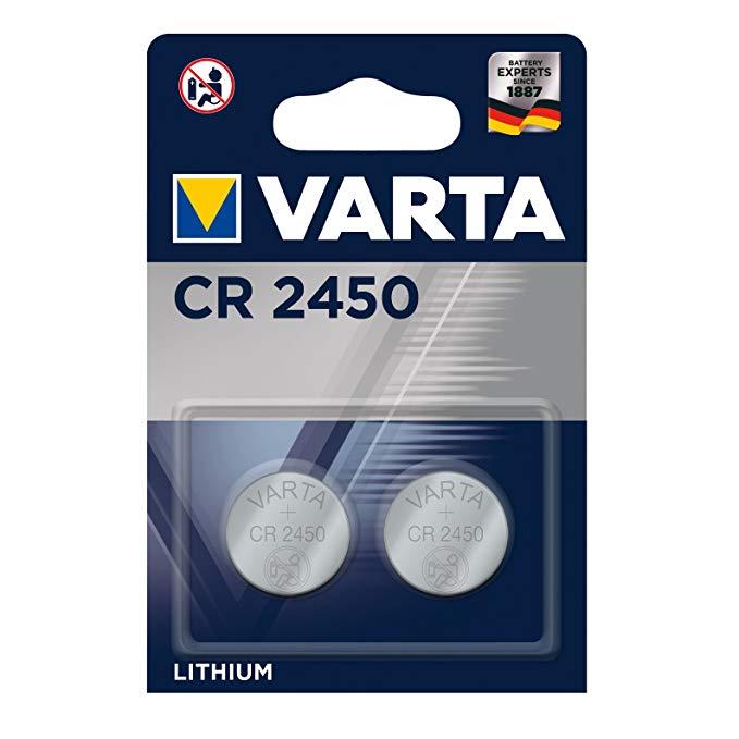 Varta 2966 Knopfzelle Lithium