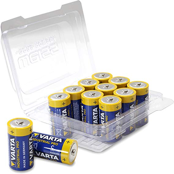 Varta 4014 Baby/C/LR14/MN1400 Industrial PRO Alkaline Batterie
