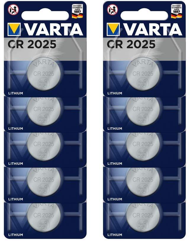 Varta Batterien Lithium Knopfzelle 3V