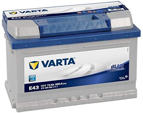 Varta Blue Dynamic E43 Autobatterie 572 409 068