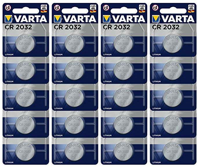 Varta CR2032 Lithium Knopfzellen 3V Batterien
