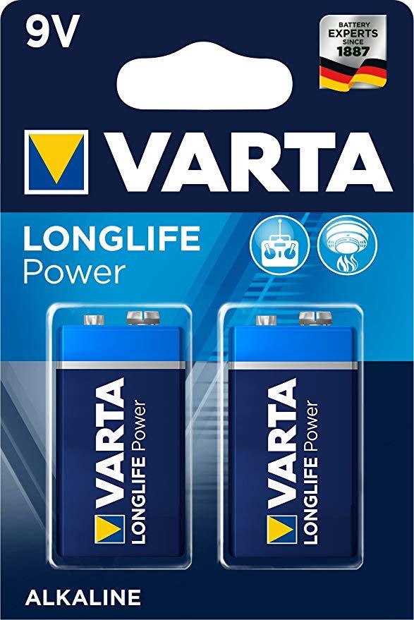 Varta Longlife Power 9V Block 6LP3146 Batterie