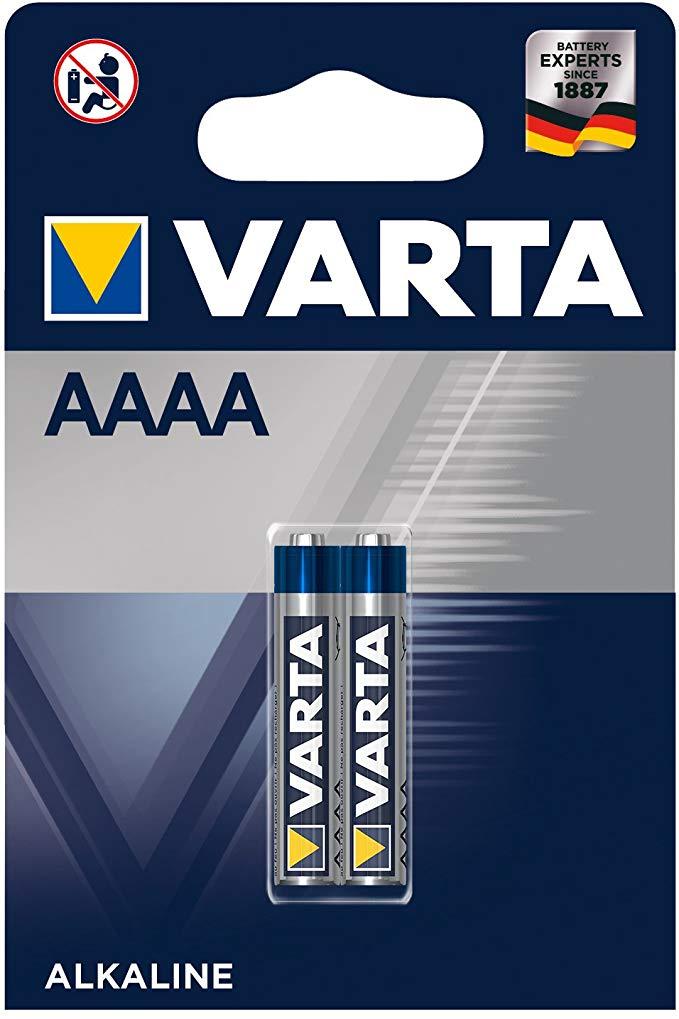 Varta LR8D425 AAAA Batterie 1,5 V Mini Alkaline Batterien